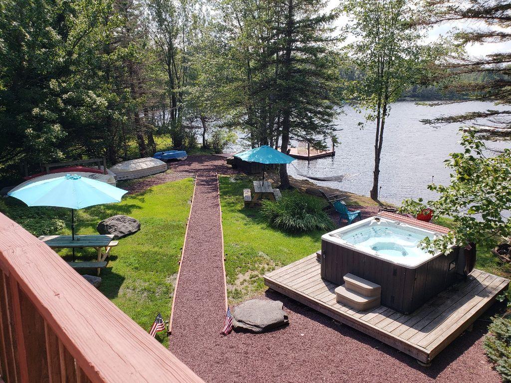 pocono mountain lake house rentals